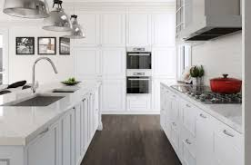 wall units stunning white built in cupboards white kitchen