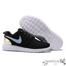 rosha runs nike roshe run mesh black white hologram iridescent shoes jpg