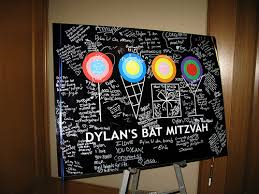 wedding signing board providing boston with sign in boards for bat mitzvahs bar
