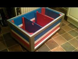Build Wooden Toy Boxes by How To Build Your Own Children U0027s Toy Chest Out Of Reclaimed Wood