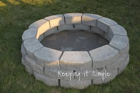 Old Fire Pit - how to build a diy fire pit for only 60 keeping it simple crafts