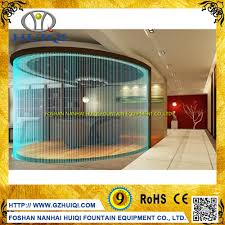 digital water curtain home decoration waterfall wall dancing water
