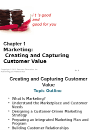 principles of marketing chapter 1 customer relationship