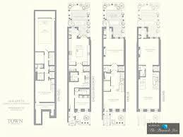 Townhouse Blueprints by New York Brownstone Floor Plans Ideasidea