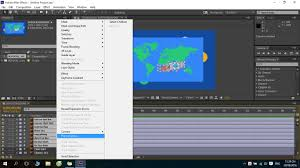 Displacement Map After Effects Collapse Transformation Not Working In Adobe After Effects Cc