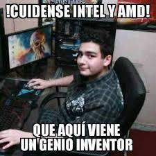 Amd Meme - dopl3r com memes cuidense intel y amd que aqui viene el chico