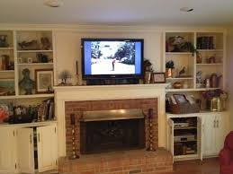 Built In Bookshelves Around Fireplace by Delightful Built In Cabinets Around Fireplace Part 10