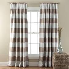 Brown And Ivory Curtains Darkening Curtains And Blackout Curtains Gray Crystal Chandelier
