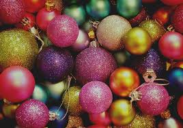 amazing and colorful ornaments