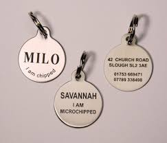 Engravable Dog Tags For Men Dog Tag Pet Id Tag Dog Disc Stainless Steel Laser Engraved Both