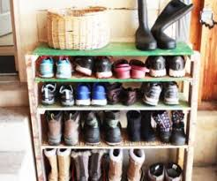 Shoe Organizer Garage - diy fast and easy built in wall garage shelves