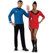 T Shirt Halloween Costumes Ideas Star Trek Movie Blue Shirt Costume Costumes Creative