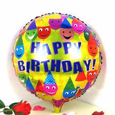 birthday helium balloons aliexpress buy 18 inch happy birthday aluminum foil balloons