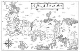 Ice And Fire Map Hand Drawn Map From A Song Of Ice And Fire Album On Imgur