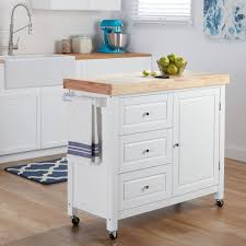 island cart kitchen rubberwood kitchen island cart free shipping today