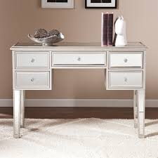 Mirror Console Table Southern Enterprises Mirage Mirrored Console Table In Silver Cm9157