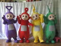 Halloween Mascot Costumes Halloween Teletubbies Tv Cartoon Character Teletubby Mascot