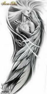 Tattoo Ideas Of Angels Www Customtattoodesign Net Wp Content Uploads 2014 04 Angel Clock