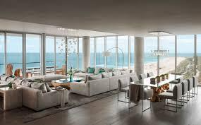 Interior Decorator Miami A Jaw Dropping Oceanfront Penthouse In Miami Beach Design Milk