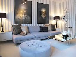 retro style apartment living room ideas with metal furniture and