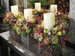 xmas table centrepieces christmas holiday centerpieces weddings