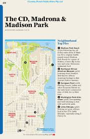 Madison Valley Seattle Map by Lonely Planet Seattle Travel Guide Lonely Planet 9781786573322