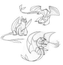 toothless sketches enolianslave drawings