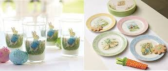 Easter Decorations For Tables by Peter Rabbit Table Decorations For The Easter