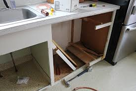 how to install base cabinets with dishwasher adding a dishwasher to existing cabinets