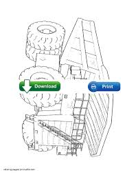 100 garbage truck coloring pages good semi truck coloring pages