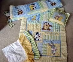 Looney Tunes Crib Bedding Baby Looney Tunes Crib Bedding Blankets Damba Info 12 3pc Set
