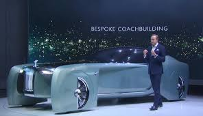 roll royce concept rolls royce vision next 100 world premiere 103ex concept youtube
