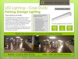 parking garage lighting levels parking garages energy retro fit
