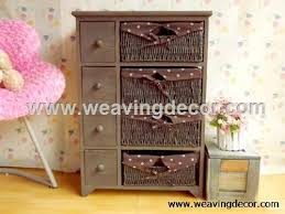 Storage Cabinet With Baskets Wooden Cabinet Wood Cabinet Storage Cabinet