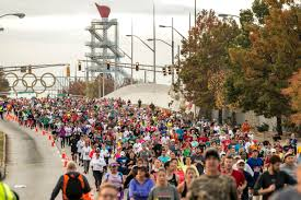 a ton of clothing collected at 2016 thanksgiving day half marathon