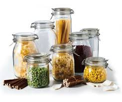 glass kitchen storage canisters glass canisters for kitchen storage jars in glass for a healthier