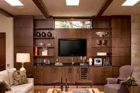 decorations unique white brown tv room ideas also wood unique