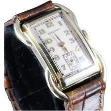 gold bentley hamilton rare solid 14k gold bentley wristwatch circa 1937 from