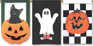October Decorations Halloween Decorations Halloween Flags