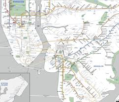 Subway Nyc Map New York Subway Map Post Sandy Limited Service Plans Revealed