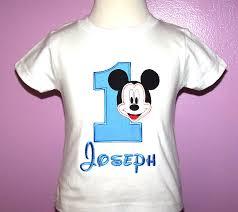 mickey mouse 1st birthday shirt home mickey mouse shirts birthday mickey mouse number shirt