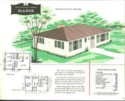 large bungalow house plans 1950 bungalow house plans homes zone lovely 1960 ranch home floor