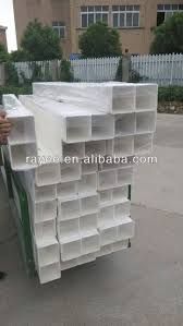 chinese cheap pvc fence white plastic trellis fence panels high