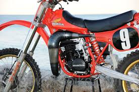 first motocross bike 1981 honda rc250m