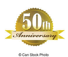 fiftieth anniversary fiftieth anniversary vector clip royalty free 23 new images