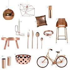 Copper Accessories For Kitchen Roundup 12 Modern Copper Accessories Design Milk