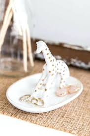 silver giraffe ring holder images Giraffe ring holder gifts giraffe trinket box with crystals jpg