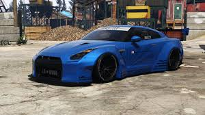 nissan tuner cars liberty walk nissan gt r add on tuning liveries gta5 mods com