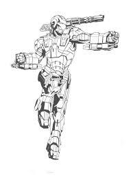 Coloriage Iron Man  Les beaux dessins de Super Héros à imprimer et