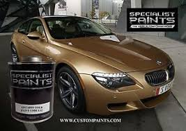 bmw ontario pint kit of bmw ontario gold motorcycle automotive hotrod ppg